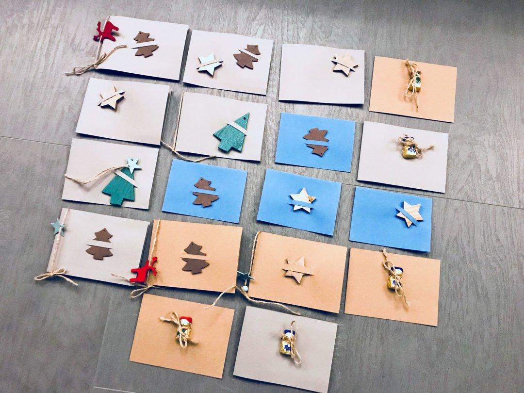 Holz Weihnachtskarten.Weihnachtskarten Holz Baumüller Iuna