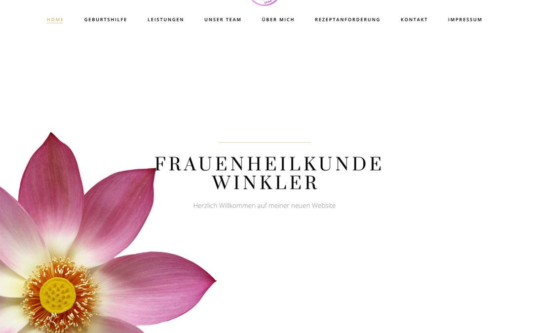Neuer Internetauftritt für Frauenheilkunde Winkler
